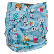 Sunward Reusable Washable Adjustable Baby Cloth Ventilation Nappy Nappy