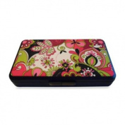 K Quinn Designs Pink Paisley Wipe Clutch