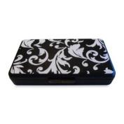 K Quinn Designs Black/white Damask Wipe Clutch