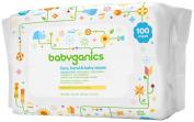 Babyganics Baby Wipes Unscented 100ct
