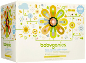 Babyganics Baby Wipes Unscented 400ct