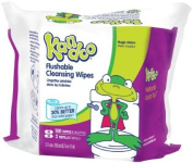 Kandoo Flushable Toddler Wipes Magic Melon Scent 100ct