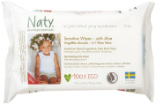 Naty Eco-Sensitive Baby Wipes with Aloe Unscented 56ct