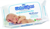 DermaH2O WaterWipes Pack, 60 Count