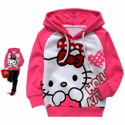 Baby Kids Girl Toddlers Hoodies Cotton Tracksuit Children Clothing Set Suit 1-2Y