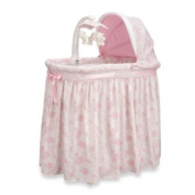 Simmons Kids' Pink Paisley Bassinet