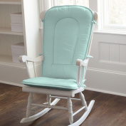 Solid Seafoam Aqua Rocking Chair Pad