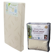 Colgate Eco Classica III Dual Firmness Eco-Friendlier Crib Mattress with Organic Mattress Pad
