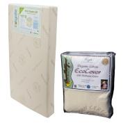 Colgate Eco Classica III Dual Firmness Eco-Friendlier Crib Mattress with Organic Mattress Pad