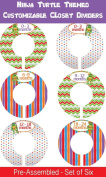 Ninja Turtle Themed Themed Infant Closet Dividers - Plastic Closet Dividers