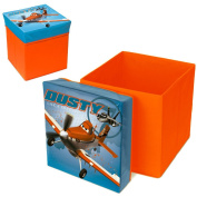 Easy Licences Planes Storage Stool, Multi-Colour