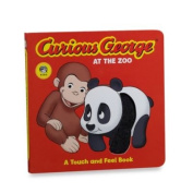 Curious George At The Zoo Touch And Feel Board Book