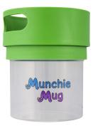 Munchie Mug Snack Cup 350ml Green