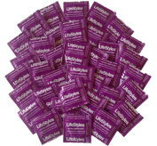 Lifestyles Ultra Lubricated with Spermicide Premium Latex Condoms with Silver Pocket/Purse Case- 36 Count