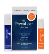 PrevaLeaf Soothe Anti-Itch & Irritation Cream & PrevaLeaf Probiotic Boost Bundle gently eases your vaginal discomfort to help you feel like yourself again.