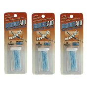 FLOSSAID BRIDGEAID DENTAL FLOSS THREADERS FOR BRIDGES & BRACES (3 Packs