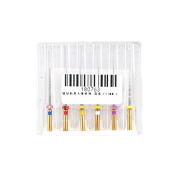 Dental Endodontic Niti Rotary Protaper Files Universe Engine 21mm Mixed by Superdental