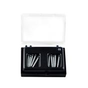 New 1.4MM 10Pcs Dental Fibre Post Glass Set Refill Drill Thread Protaper Files by Superdental