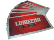 Lumeeno™ Zero Peroxide Gentle Teeth Whitening Strips 2 Week Supply (14 Treatments) Teeth Whitening Programme for Sensitive Teeth 28 Strips + Free Colour Chart Guide - No Hydrogen Peroxide Enamel Safe Tooth Whitestrips Non-peroxide By Lumeeno ..