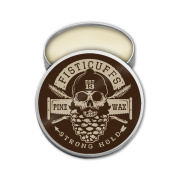 Fisticuffs Pine Scent Strong Hold Moustache Wax 30ml Tin