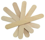 Cotton Orchid Bulk Large Wide Wood Wax Spatula Applicator 15cm x 1.9cm 10,000 pieces