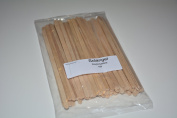 Solangel Wooden Waxing Applicators Sticks for Face & Eyebrows Wax Hair Removal 100 pcs/pack