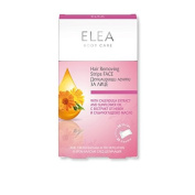 Hair Removing Strips for Face with Calendula Extract and Sunflower Oil Elea - 20 pcs + Calming Balm 15 g. / 15ml