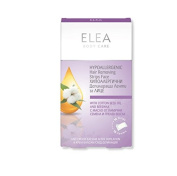 Hypoallergenic Hair Removing Strips for Face with Beeswax and Cotton Seed Oil Elea - 16 pcs + Calming Balm 15 g. / 15ml