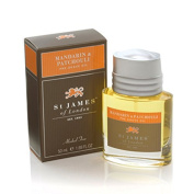 Mandarin and Patchouli Pre-shave Oil 50ml oil by St. James of London