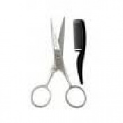 Millers Forge Moustache Scissors with Comb
