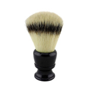 26mm Knot Black Resin Handle Synthetic Nylon Shaving Brush