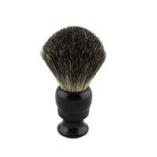 24mm knot Black Badger Hair Shaving Brush