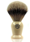 Silvertip Badger Brush 21 Mm Knot Faux Ivory Handle -- Comes with Free Stand