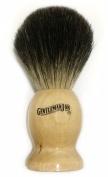 """Gentleman Jon 100% Black Badger Hair Shaving Brush """"Gramercy"""" Model"""