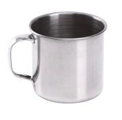 EUBUY New Arrival Large Handled Stainless Steel Cups Shinning Shaving Soap Mug Bowls for Men