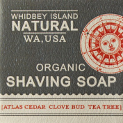 Whidbey Island Natural Shaving Bar - Cedarwood Grapefruit Tea Tree