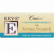 Carlson Key-e Suppositories, 12pk