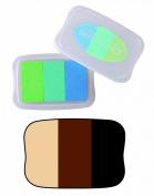 Brilliance 3 Colour Ink Pads Tsukineko Brilliance Pad, Tiramisu