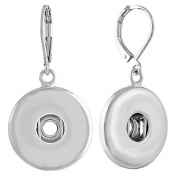 Ginger Snaps SILVER LEVERBACK EARRINGS Interchangeable Jewellery Accessory SN90-43
