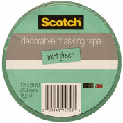 Scotch Decorative Masking Tape 2.4cm X 20 Yards-Mint