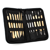 Ceramic Clay Pottery Tools Sculpting Kit Set For Drilling Hole Carving Pack Of 14