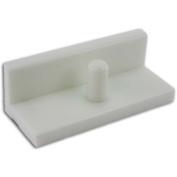 Premium 25cm White Paper Cutter Jogging Block - 7.6cm High Mybinding JH-JB310 White