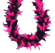 Touch of Nature 36753 Chandelle Boa, Hot Pink/Black