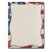 Patriotic Flag Printer Paper 80pk