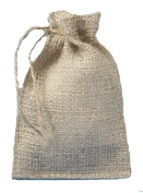 4 X 6 Burlap Bags with Drawstring - Lot of 50