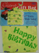 GIFT BAG GIANT 90cm X 24cm X 110cm BIRTHDAY GIFT BAG