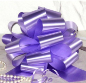 Lavender Pull Bows - 23cm Wide, Set of 6