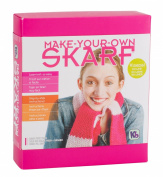 Authentic Knitting Board Skarf Kit/Yarn, Rose Pink