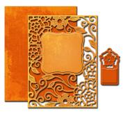 Spellbinders S4-502 Tudor Rose Card Front Die Template
