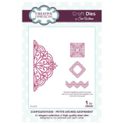 Craft Die CED6301 Sue Wilson Configurations Collection - Petite Arched Adornment